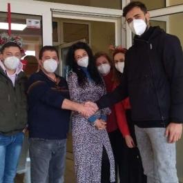 Συνάντηση με Ευρωπαίους αθλητές στην Αθήνα