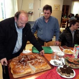 Κοπή Βασιλόπιτας 2012 οικοτροφείου «Αγάπανθος»