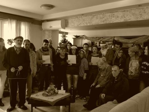 Χριστουγεννιάτικη γιορτή στον Ξενώνα «Ίρις»